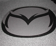 Mazda Showroom StoneCarpet Floor